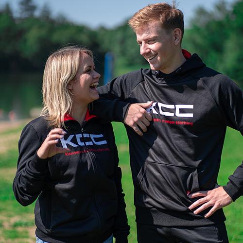 KCC Custom Teamkleding vrijetijdskleding