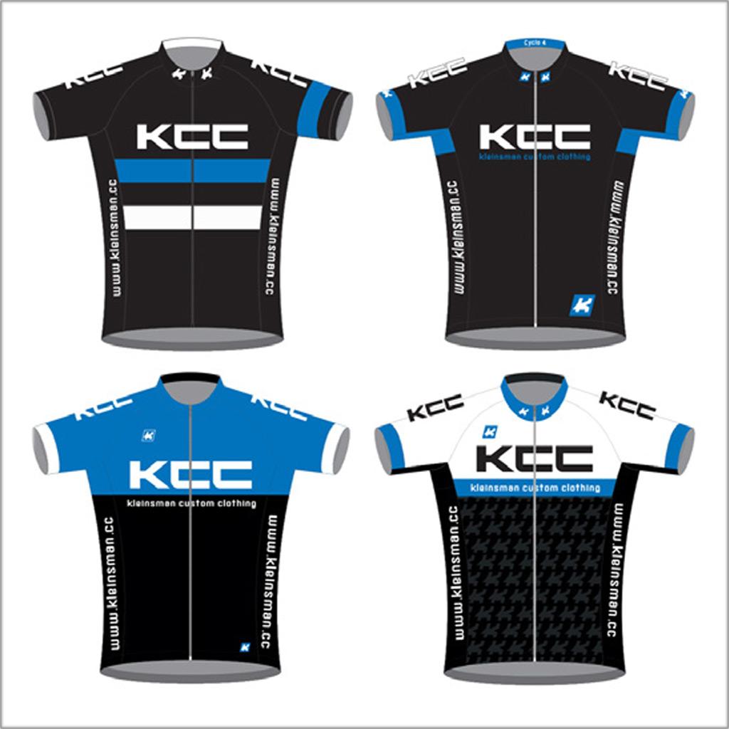 KCC Custom Teamkleding standaard ontwerpen