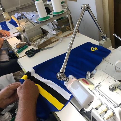 KCC Custom Teamkleding het productieproces