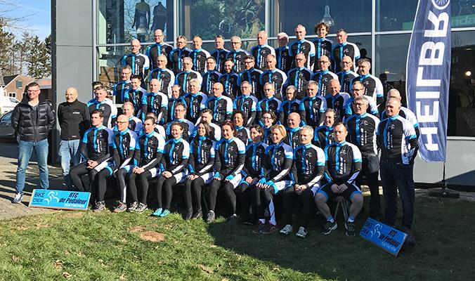 KCC Custom Teamkleding RTC De Pedaleur