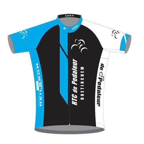 KCC-Custom Teamkleding RTC De Pedaleur