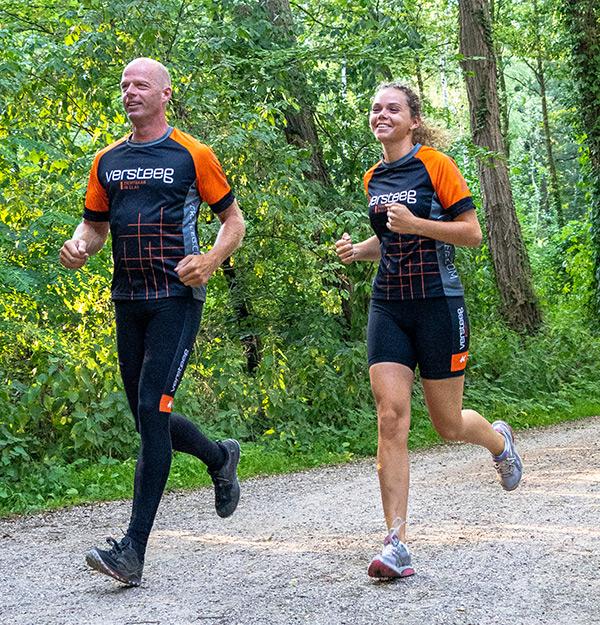 KCC Custom Teamkleding voor hardlopen
