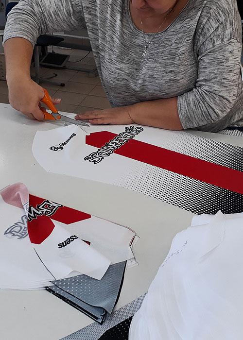 KCC custom teamkleding productieproces