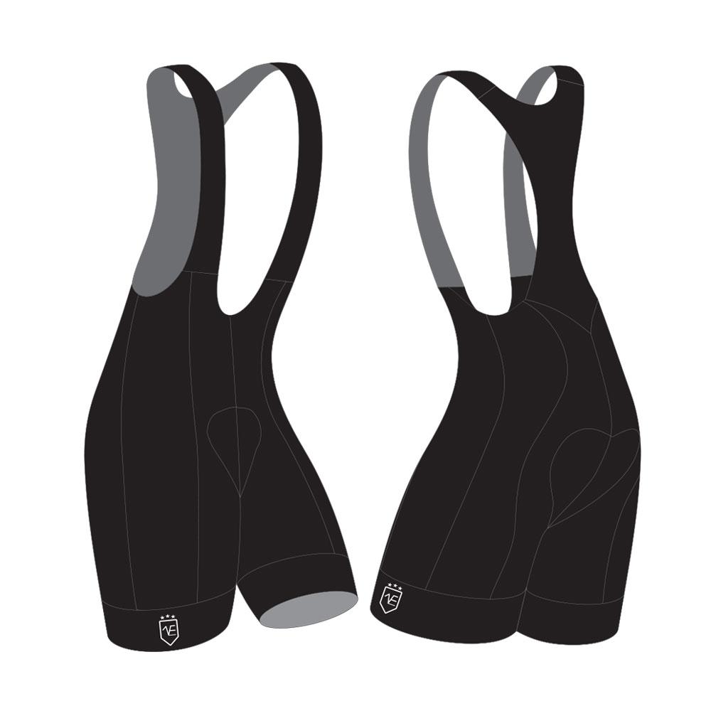 KCC Black label fietsbroeken